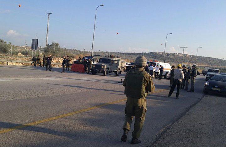 جيش الاحتلال يطلق النار على فلسطيني بعد محاولة دهس