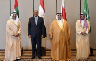 وزراء خارجية دول الحصار يجتمعون اليوم قي القاهرة