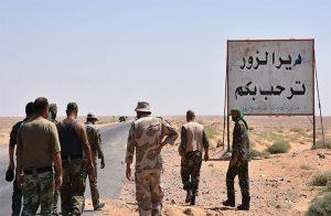 قوات بشار الأسد تسيطر على 80% من دير الزور