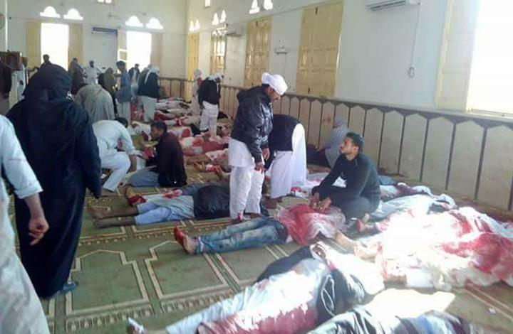 الإرهاب يضرب مجددًا في سيناء: 165 قتيلا وجريحا في تفجير مسجد