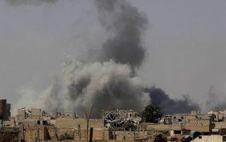 84 قتيلا جراء غارات روسية على ريف البوكمال السورية في يومين