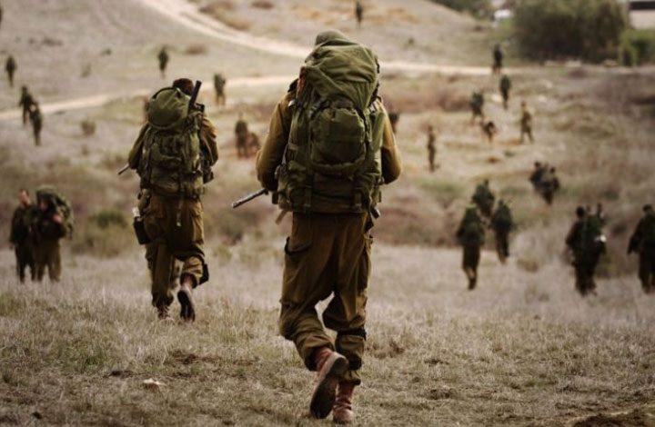 جيش الاحتلال يبدأ مناوارات عسكرية واسعة على حدود غزة
