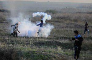 لليوم-الرابع--تظاهرات-فلسطينية-غاضبة-وإصابة-العشرات-خلال-المواجهات-مع-الاحتلال