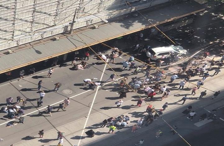 عشرات الإصابات بحادثة دهس في ملبورن الأسترالية