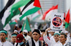 """80 ألف إندونيسي يحتجون على قرار """"ترامب"""" بشأن القدس"""