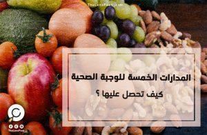 المدارات الخمسة للوجبة الغذائية الصحية .. كيف تحصل عليها؟