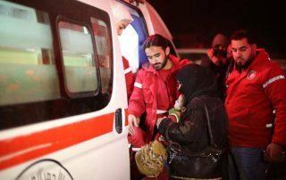 إجلاء مرضى الغوطة بسوريا إلى العاصمة دمشق