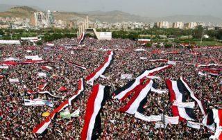 """بالفيديو.. يمنيون غاضبون بصنعاء يهتفون """"لا حوثي بعد اليوم"""""""