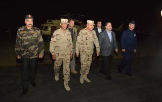 نجاة وزيري الدفاع والداخلية بمصر من هجوم على مطار العريش