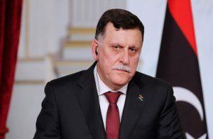 السراج يطالب واشنطن برفع حظر التسليح عن ليبيا