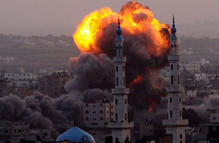 استشهاد 2 وإصابة 15 فلسطينيا في غارات إسرائيلية على غزة