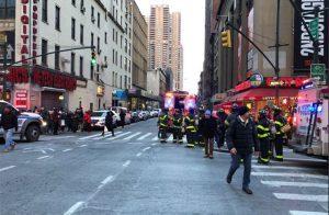 انفجار في مدينة مانهاتن الأمريكية وأنباء عن وقوع إصابات