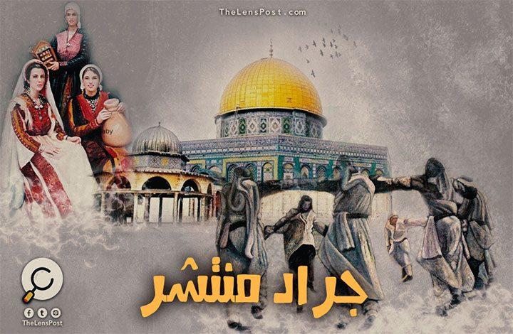 كالجراد .. الصهاينة يسرقون أرض وتاريخ وتراث الفلسطينيين