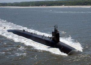 الغواصة النووية ميشيجان
