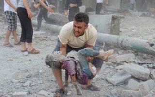 سوريا.. مقتل 3 أطفال وامرأة بقصف روسي بريف إدلب