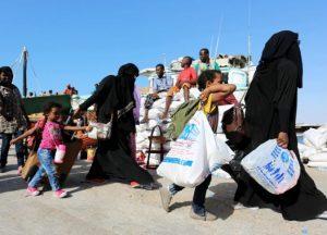 النازحين اليمنيين