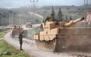"""عملية """"غصن الزيتون"""" التركية تدخل يومها الخامس في سوريا"""