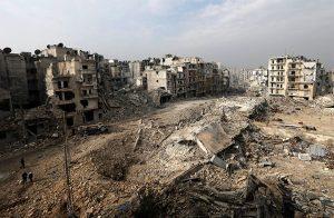 مقتل 10 آلاف سوري وتهجير مليون و300 ألف في 2017