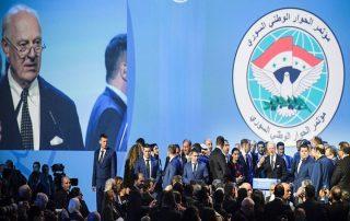 """دون تحديد مصير """"الأسد"""".. اختتام """"سوتشي"""" بتشكيل لجنة دستورية لسوريا"""