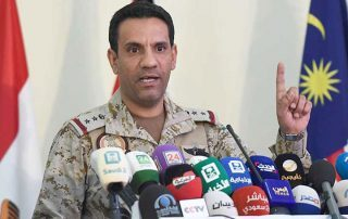 سقوط طائرة للتحالف العربي فوق اليمن بسبب خلل فني ونجاة طياريها
