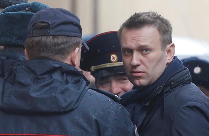 زعيم المعارضة الروسية نافالني