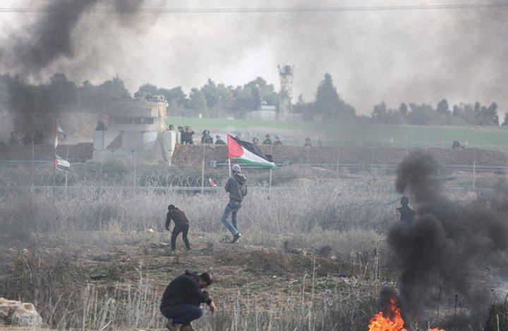 """خلال المواجهات المندلعة منذ شهر.. إصابة 26 فلسطينيا برصاص الجيش الإسرائيلي """"الجمعة"""""""
