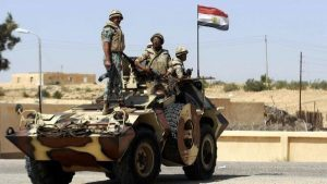 تواجد عسكري مصري في حلايب وشلاتين