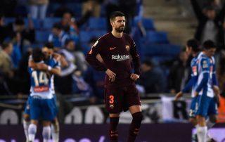 """كأس ملك إسبانيا.. """"إسبانيول"""" يفاجئ برشلونة ويهزمه بهدف"""