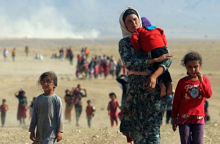 منذ منتصف ديسمبر الماضي.. نزوح أكثر من 210 آلاف شخص بشمال سوريا