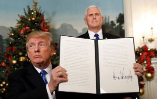 """""""فايننشال تايمز"""": قرار """"ترامب"""" الخاص بالقدس تهديد صريح للأردن"""