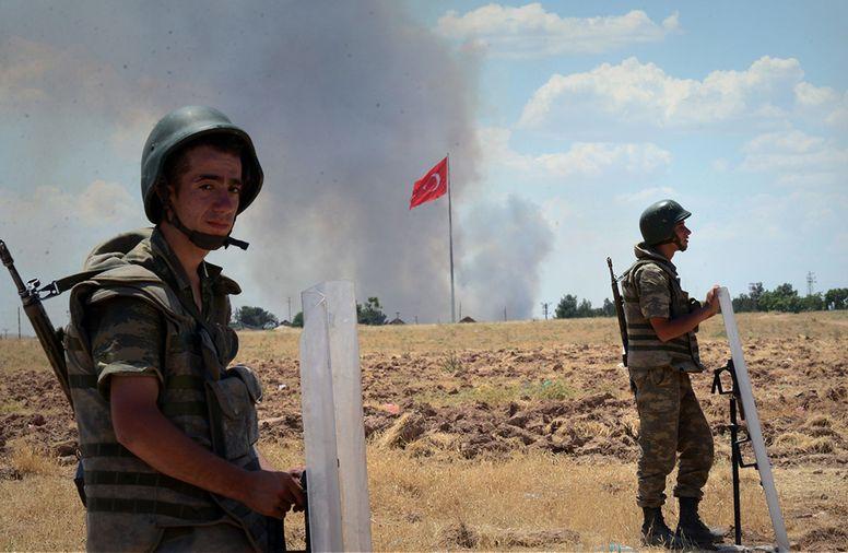 الجيش التركي في عفرين