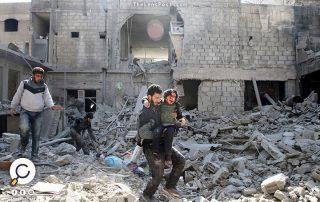 في أول أيام هدنة مجلس الأمن.. 7 قتلى مدنيين بقصف للنظام السوري في الغوطة الشرقية