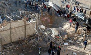 شهيدان في الغارات الإسرائيلية على قطاع غزة