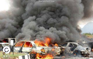 6 قتلى و44 مصابًا جرّاء تفجير سيارتين مفخختين جنوبي اليمن