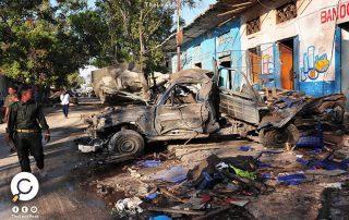 الصومال.. 27 قتيلا في تفجيرين بمقديشو استهدفا فندقا ونقطة أمنية