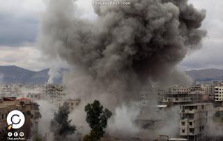قصف مدفعي على الغوطة الشرقية
