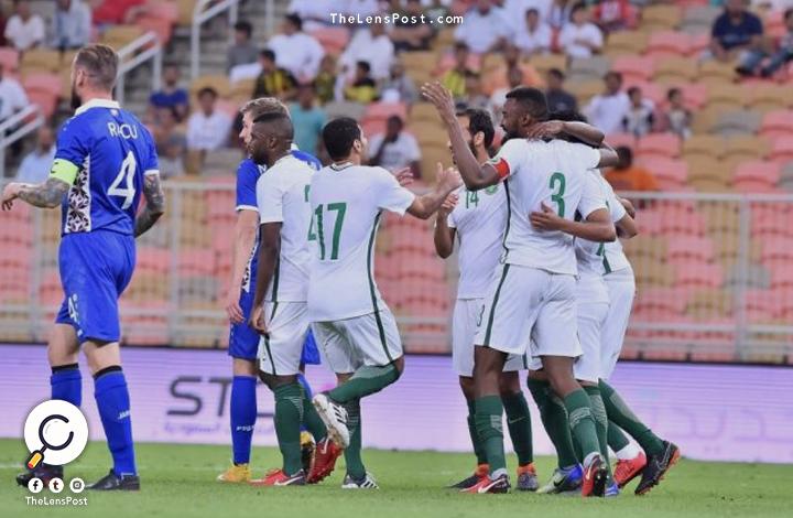 السعودية تقسو على مولدوفا بثلاثة أهداف
