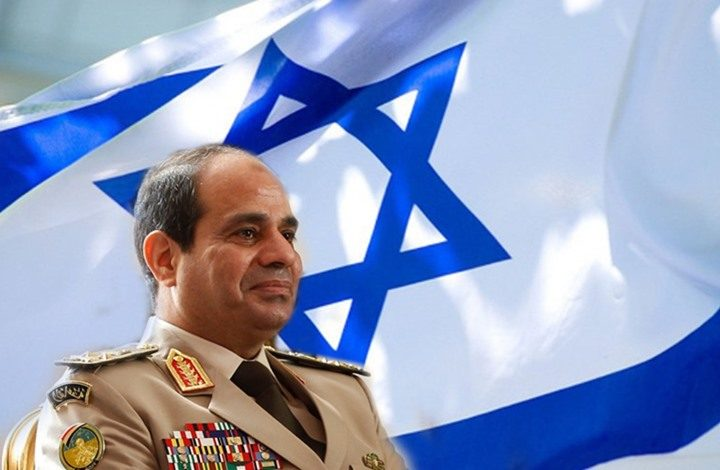 السيسي و إسرائيل