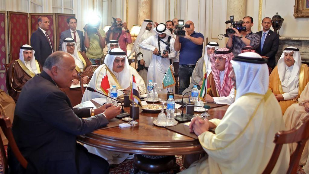 وزراء خارجية دول الحصار