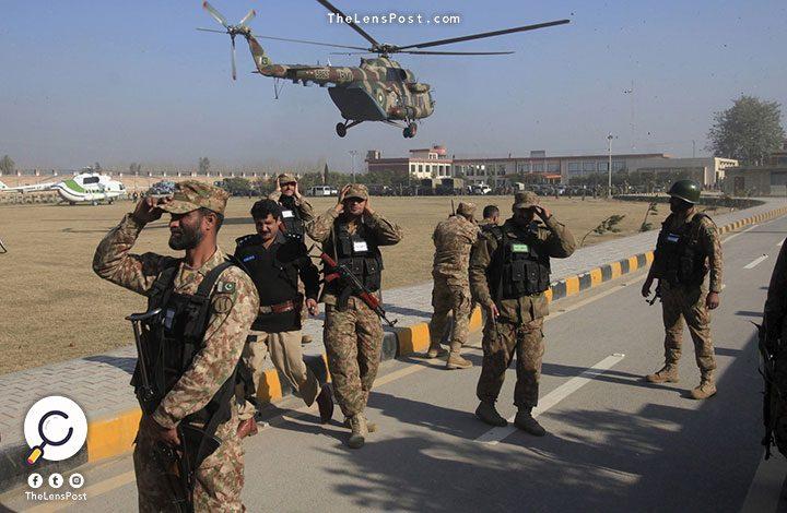 الجيش الباكستاني يعلن نشر قوات عسكرية على حدود السعودية