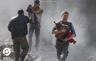 مقتل 14 مدنيا بينهم أطفال بهجمات للنظام السوري على غوطة دمشق الشرقية