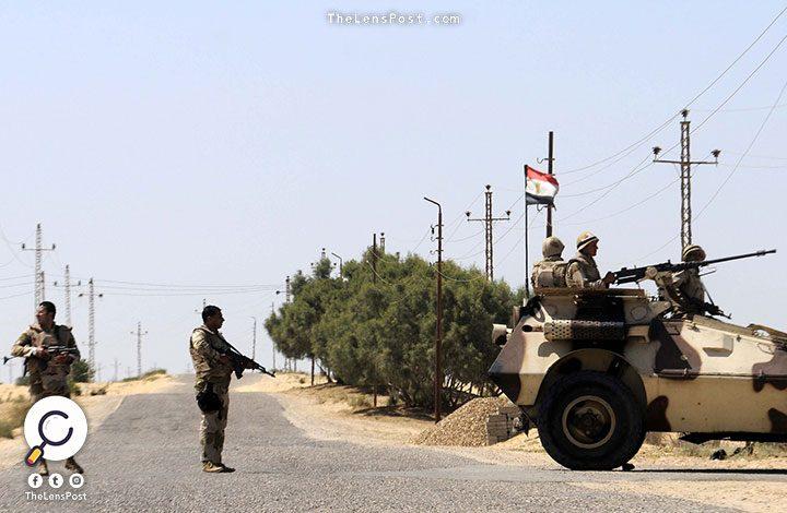 مقتل 4 وإصابة 7 من عناصر الجيش المصري في هجومين بسيناء