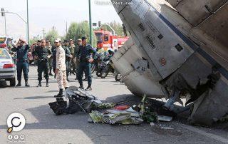 تحطم طائرة ركاب إيرانية ومقتل جميع ركابها