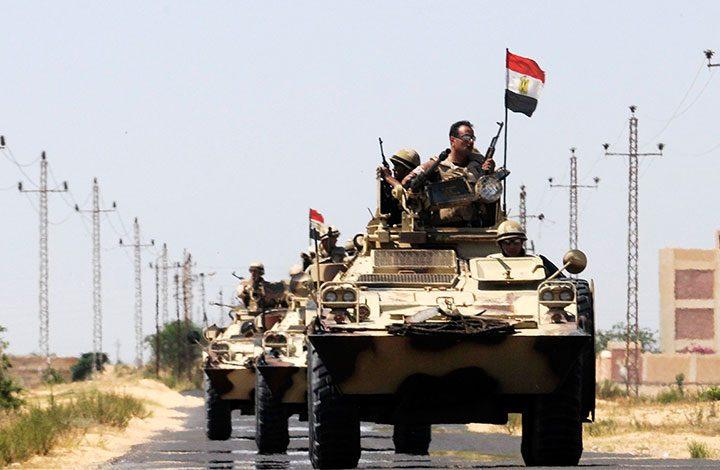 الجيش المصري يبدأ عملية عسكرية في سيناء والدلتا وغرب وادي النيل