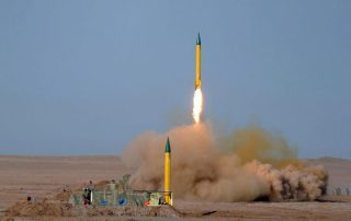 اعتراض صاروخ باليستي استهدف قاعدة عسكرية سعودية