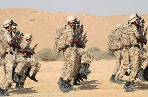 السعودية والإمارات تجريان مناورة بالذخيرة الحية في البحرين