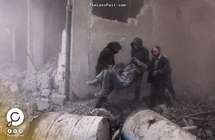 قصف الغوطة الشرقية و مقتل السوريين