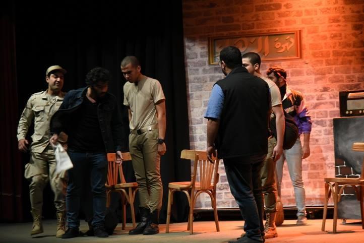 صورة من مسرحية سليمان خاطر