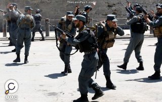 خلال استهداف نقطة تفتيش أمنية.. مقتل 10 رجال أمن غربي أفغانستان