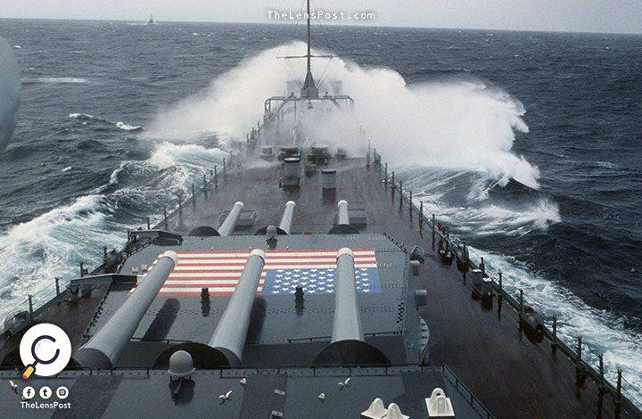 """لهذا السبب.. حاملة طائرات أمريكية ترسو بميناء """"جبل علي"""" في دبي"""